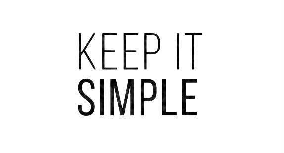 Clasificación de la información: Keep it simple
